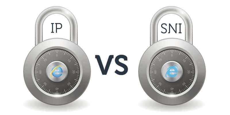 Certificats SSL, IPv4 vs SNI