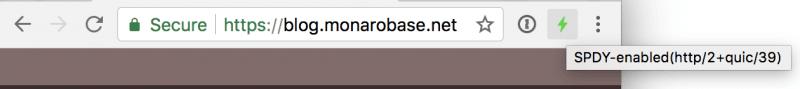 Indicateur Google QUIC